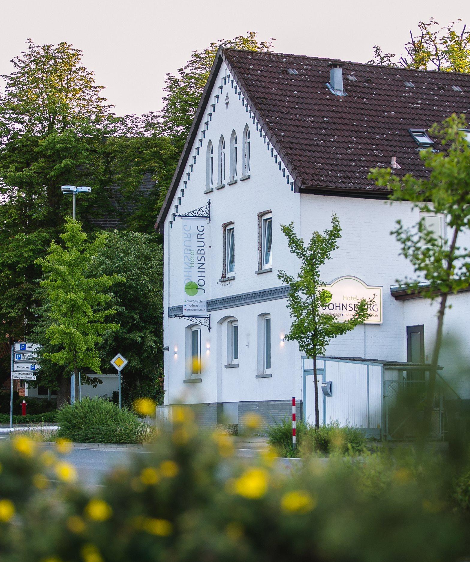 Hotel Johnsburg - Außenansicht Eingangsbereich