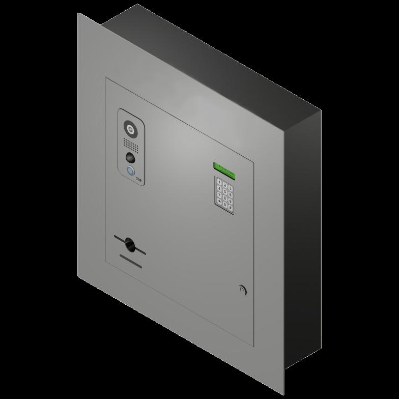 Dispenser Wandtableau
